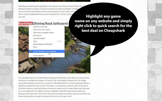 CheapShark Deal Search