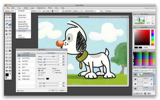 Sumo Paint - Online Image ...