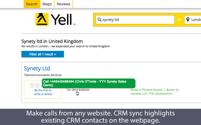 Make Calls from Google Chr...