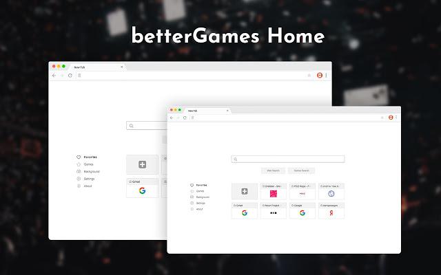 betterGames Home