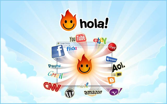 Unlimited Free VPN - Hola