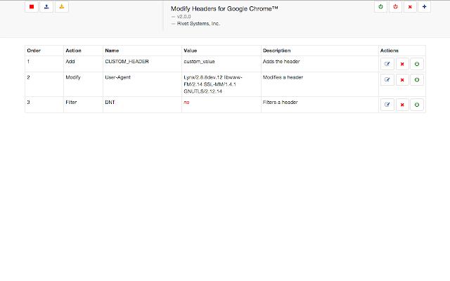 Modify Headers for Google ...