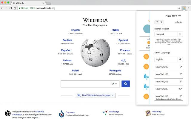Weather-Chrome