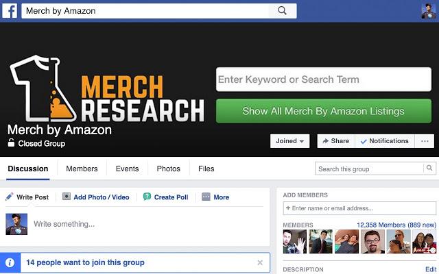 Merch Research - Free